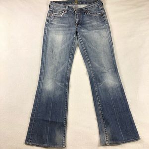 7 Seven for all Mankind bootcut med wash Sz 28x28